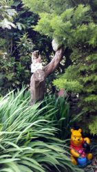 Pooh in the Enchanted Garden