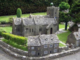 Church of St. Edward, Corfe Castle, 1646