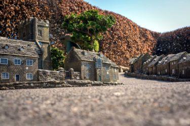 Corfe Castle Model Village by Ian Barrow Photography