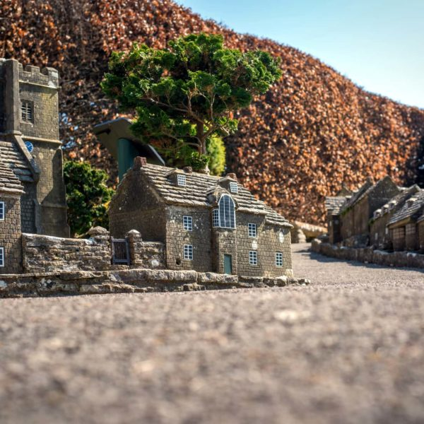 Corfe Castle Model Village by Ian Barrow Photography