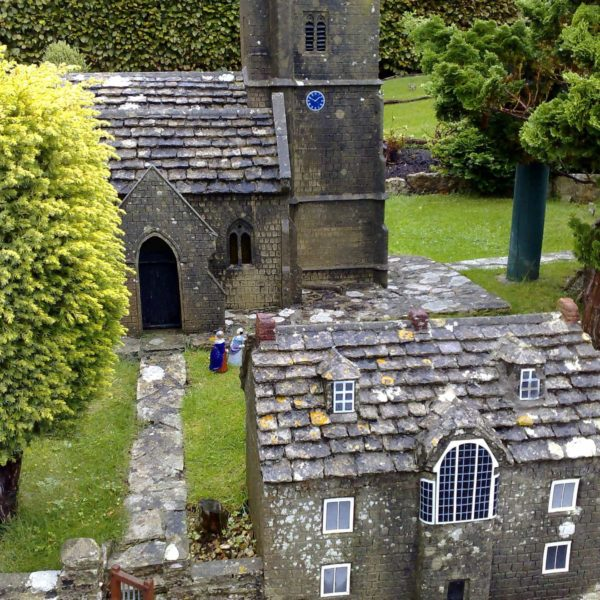 Church of St. Edward, Corfe Castle, 1646